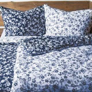 Bavlnené posteľné obliečky Indigo
