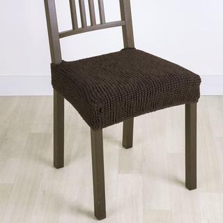 Super strečové poťahy GLAMOUR hnedá, stoličky 2 ks 40 x 40 cm