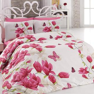 Bavlnené posteľné obliečky Alize Pink ružové