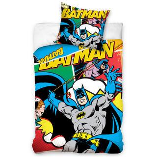 Detské posteľné obliečky Batman komiks