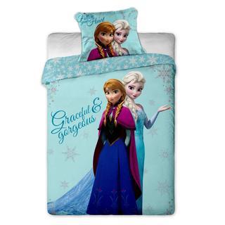 Detské posteľné obliečky Ľadové kráľovstvo sestry