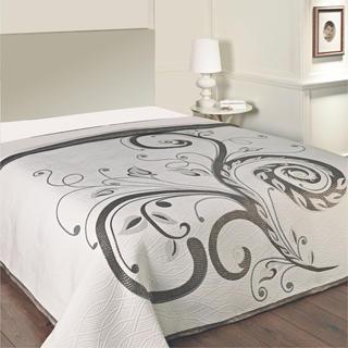 Prikrývka na posteľ DOMINIC BLACK