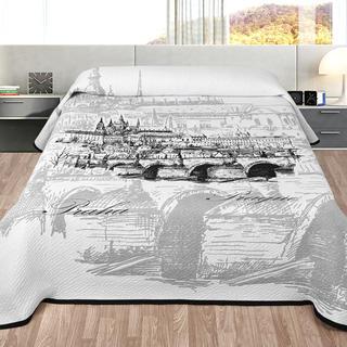 Prikrývka na posteľ PRAHA