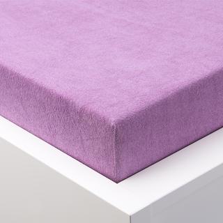 Napínacie prestieradlo froté EXCLUSIVE fialová