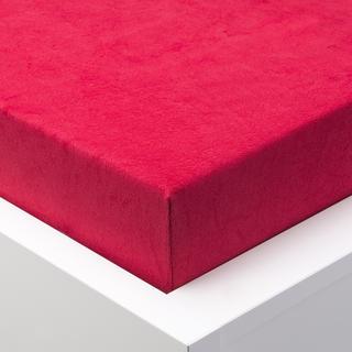 Napínacie prestieradlo froté EXCLUSIVE červená