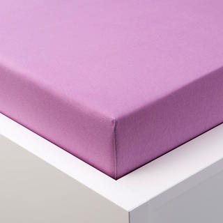 Napínacie prestieradlo jersey s elastanom fialové
