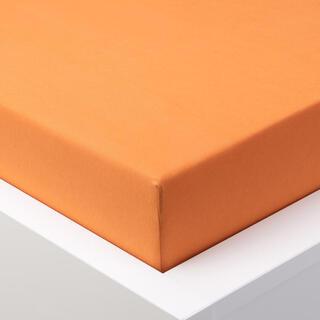Napínacie prestieradlo jersey EXCLUSIVE oranžové