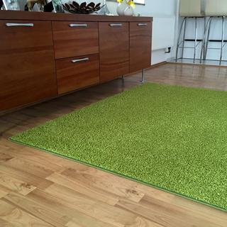 Koberec SHAGGY zelený