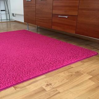 Kusový koberec SHAGGY ružový