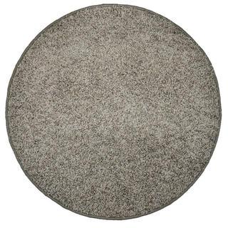 Okrúhly koberec SHAGGY šedý