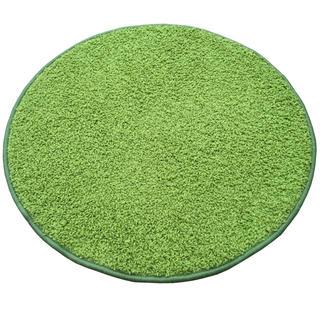Okrúhly koberec SHAGGY zelený