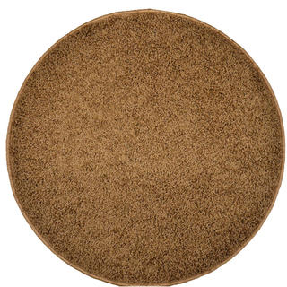 Okrúhly koberec SHAGGY hnedý