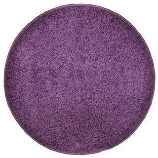 Okrúhly koberec SHAGGY fialový