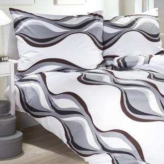 Bavlnené posteľné obliečky Wave