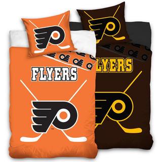 Bavlnené posteľné obliečky NHL Philadelphia Flyers