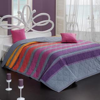 Prikrývka na posteľ Susan fialová