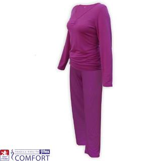Dámske funkčné pyžamo Julepa fialové