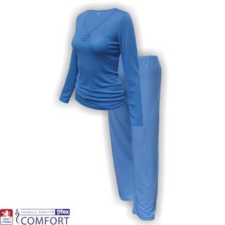Dámske funkčné pyžamo Julepa modré
