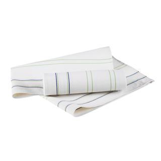 Bambusové utierky zelený pásik 2 ks
