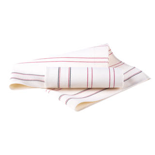 Bambusové utierky červený pásik 2 ks