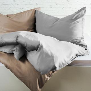 Bambusové posteľné obliečky svetlošedé