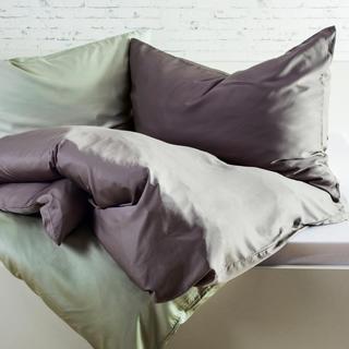 Bambusové posteľné obliečky tmavošedé