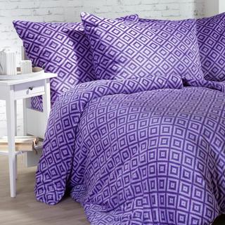 Obliečky z mikroplyšu Sebastien fialové