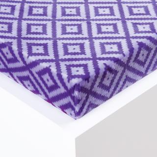 Napínacie prestieradlo Sebastien mikroplyš fialové