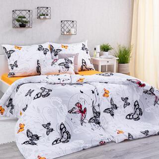 Bavlnené posteľné obliečky BUTTERFLY
