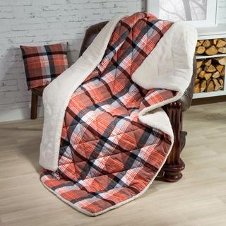 Prešívaná deka s obliečkou na vankúšik Terra