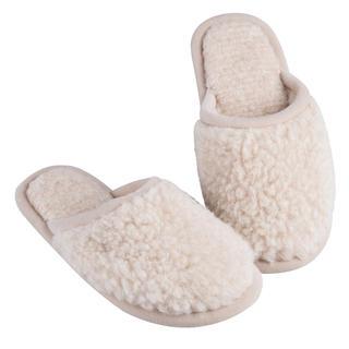 Domáce papuče s protišmykovou podrážkou prírodnou