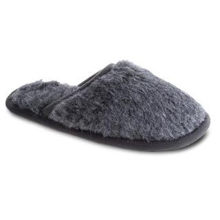 Domáce papuče s protišmykovou podrážkou šedé