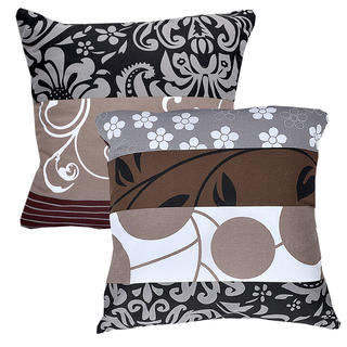 Bavlnené obliečky na vankúšiky Chocolate 2 ks