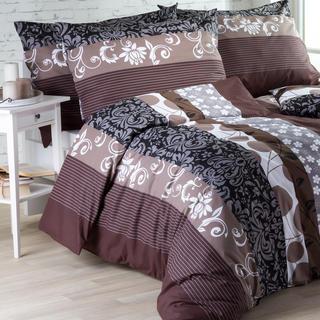 Bavlnená posteľná bielizeň Chocolate