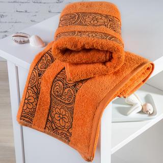 Froté uteráky Madrid oranžové