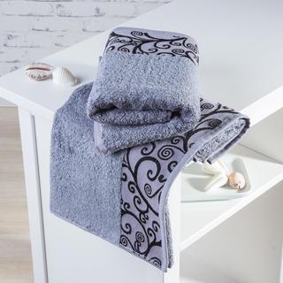 Bambusové uteráky Granada šedé