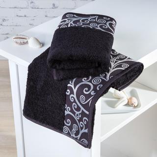 Bambusové uteráky Granada čierne
