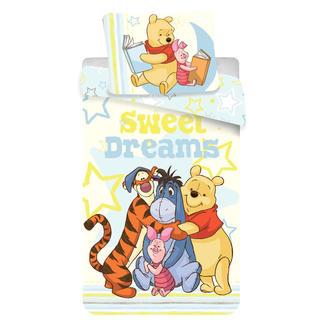 Detské posteľné obliečky Macko Pú a kamaráti