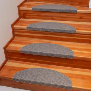 Koberec na schody QUICKSTEP polkruh béžový