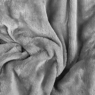 Napínacie prestieradlo SLEEPWELL mikroplyš šedé