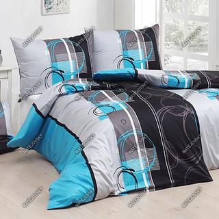 Matějovský posteľné obliečky Jamisson tyrkys krep