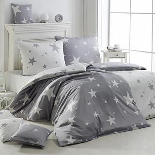 Matějovský posteľné obliečky New star šedá krep, predĺžená dĺžka