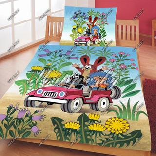 Matějovský posteľné obliečky Krtko v aute