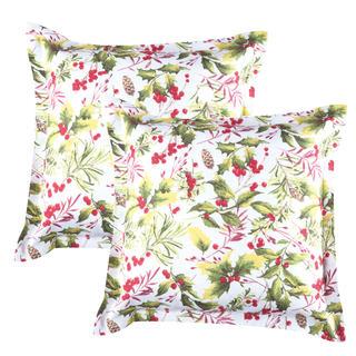Obliečky na vankúšiky Poinsettia 2 ks