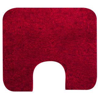 Kúpeľňová predložka Tassos červená, GRUND, k toalete 55 x 50 cm