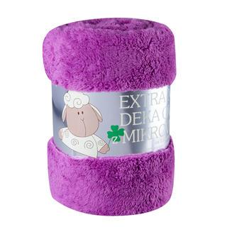 Obojstranná deka Ovečka fialová