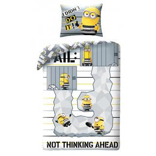 Detské posteľné obliečky Mimoni vo väzení