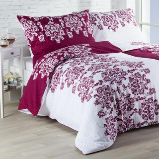 Krepové posteľné obliečky Frida Bordó