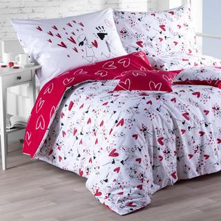 Bavlnené posteľné obliečky Láska