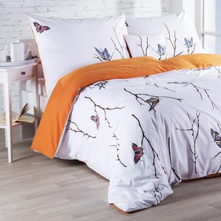 Bavlnené posteľné obliečky Motýle